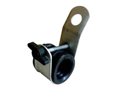 Suspension clamp for abc cable